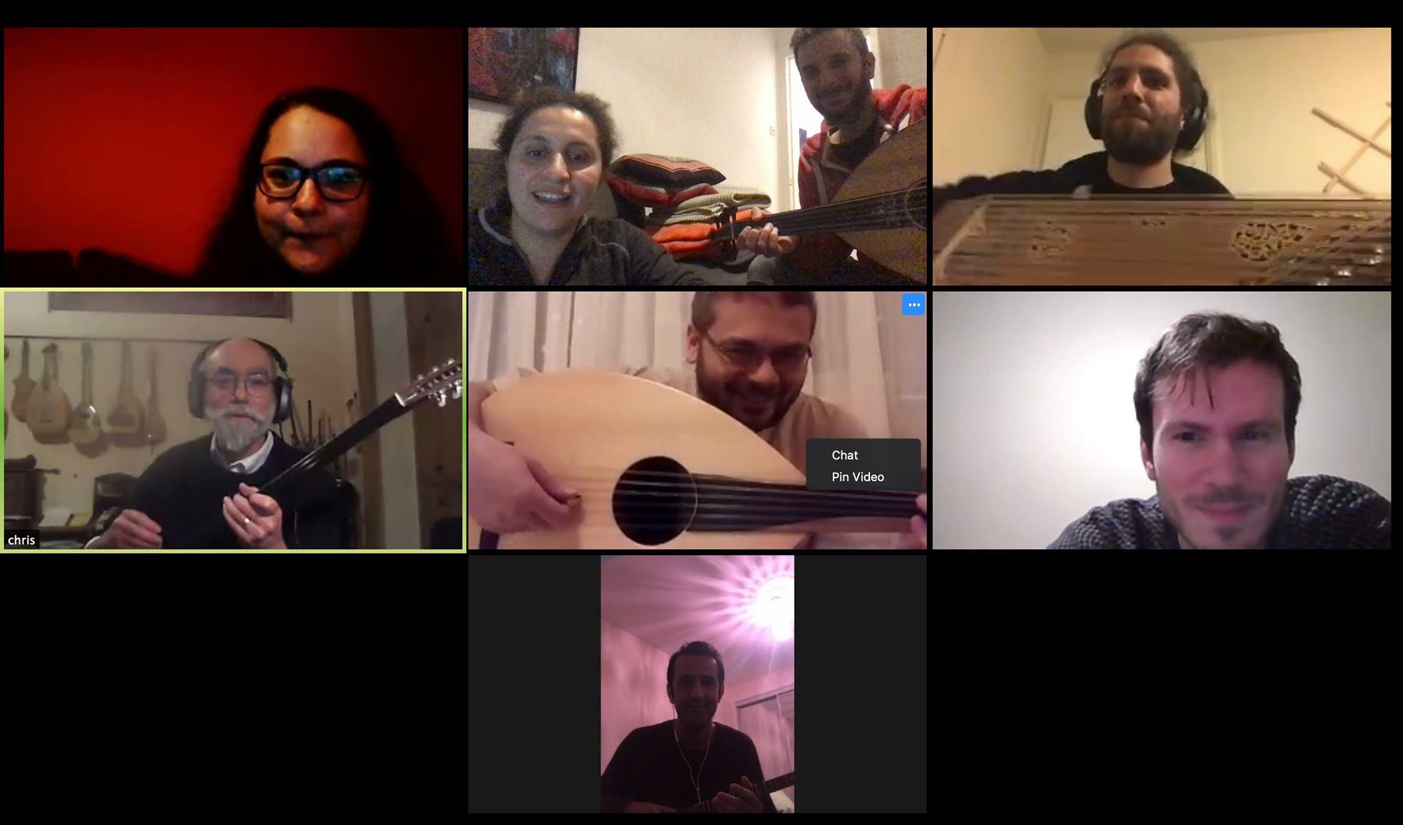 Online rehearsal